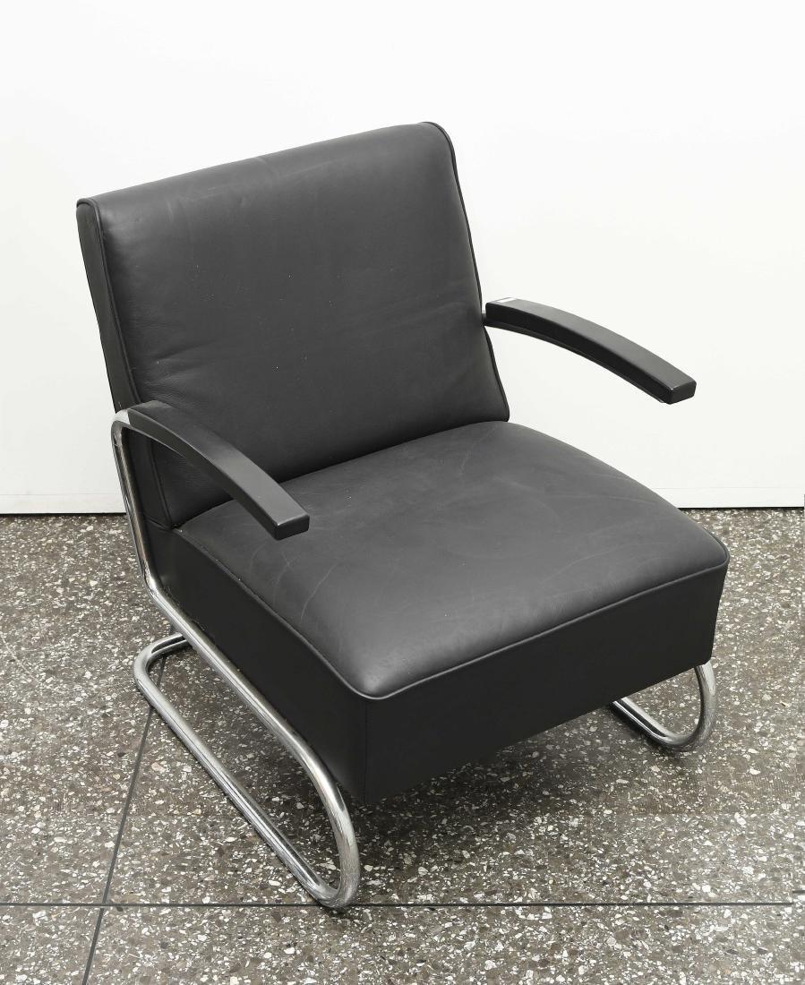 """Thonet Freischwinger Sessel Modell """"S 411"""","""