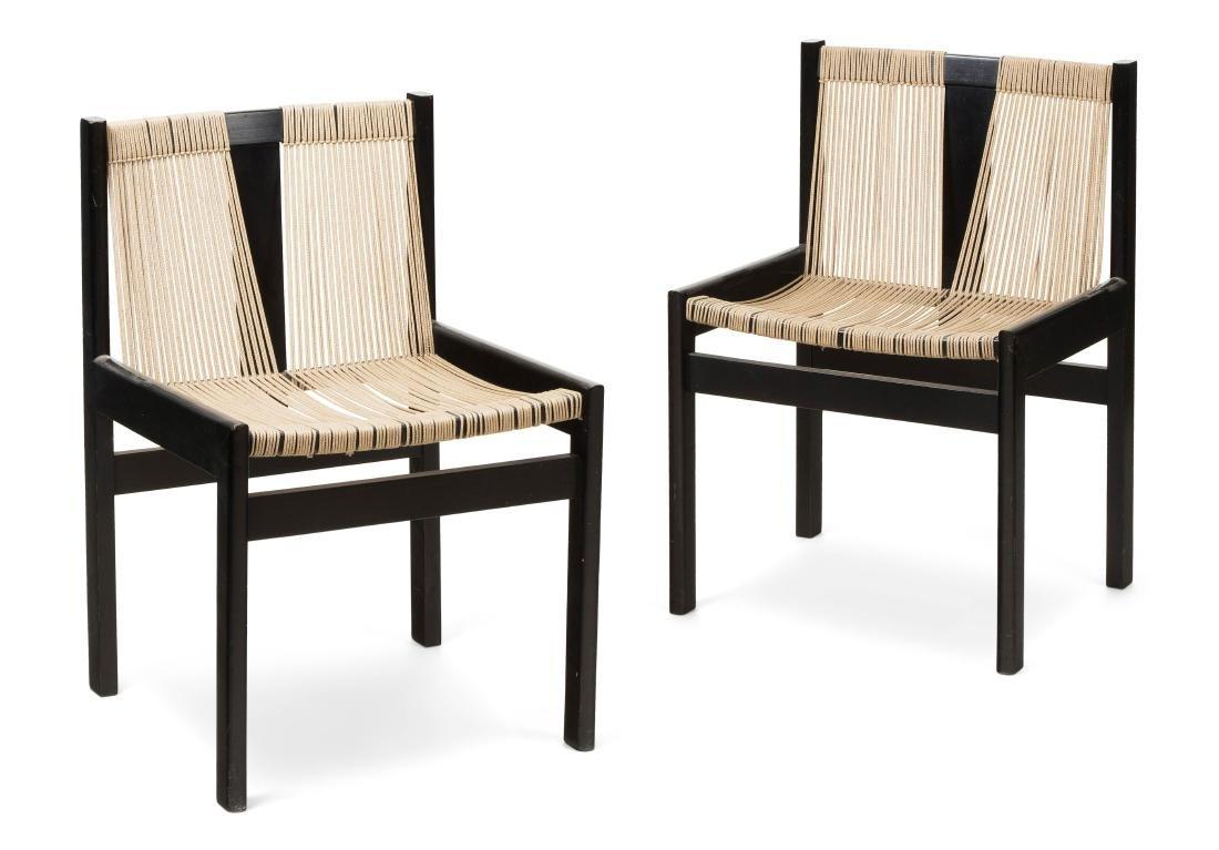 Haussmann, Robert Satz von sechs Stühlen Modell