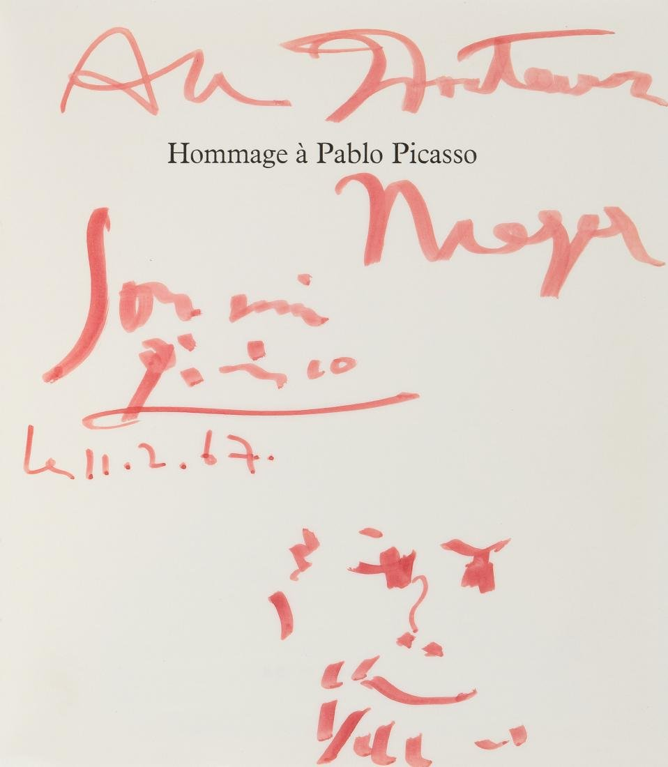 """Picasso, Pablo (Malaga  1881–1973 Mougins) """"Hommage à"""