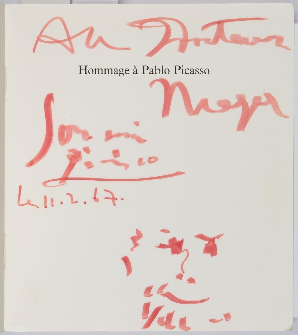 """Picasso, Pablo (Malaga  1881–1973 Mougins) """"Hommage à - 2"""
