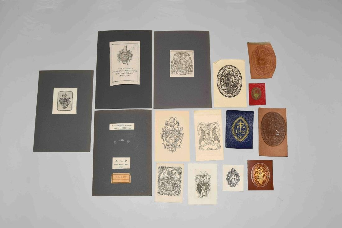 Lot: Ex Libris