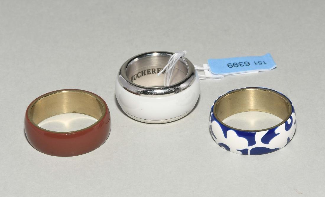 Bucherer Variato Ring 750 Weissgold/Metall. 3