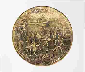 Schalenboden, Abraham Gessner (1552–1613)