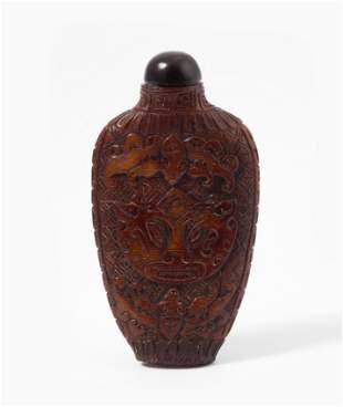 Rhinozeroshorn Snuff Bottle