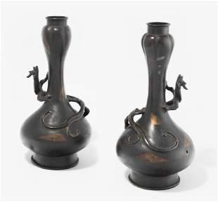 1 Paar Vasen