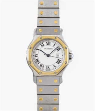 "Cartier ""Santos Octagon"", 1980er Jahre"