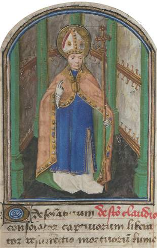 Buchmalerei, Burgund um 1470