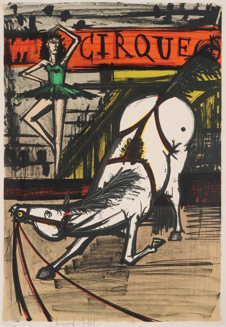BUFFET, Bernard (Paris 1928–1999 Tourtour) Cirque.