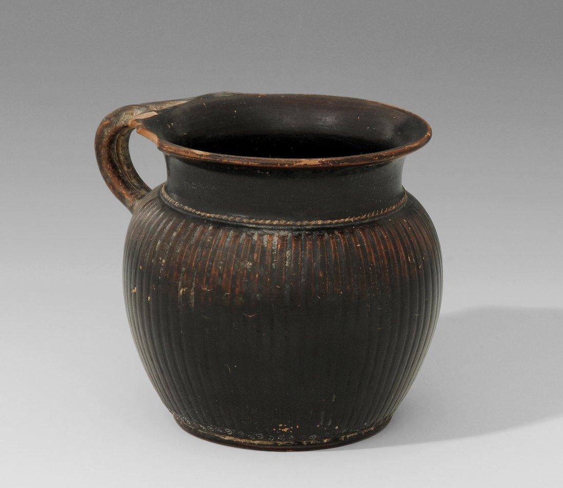 Henkelkanne Griechisch, 6.-4.Jh. v. Chr. Ton mit