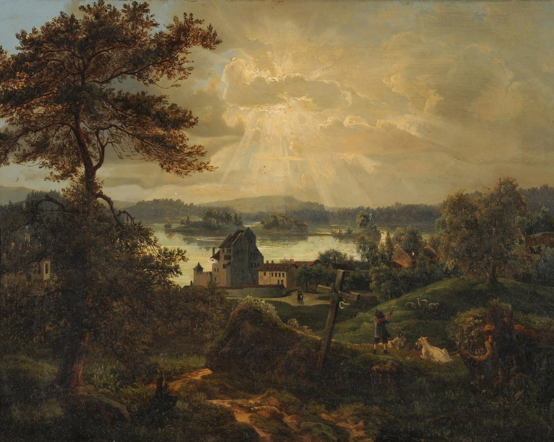 Rieter, Julius (Winterthur 1830–1897 Zürich) An einem