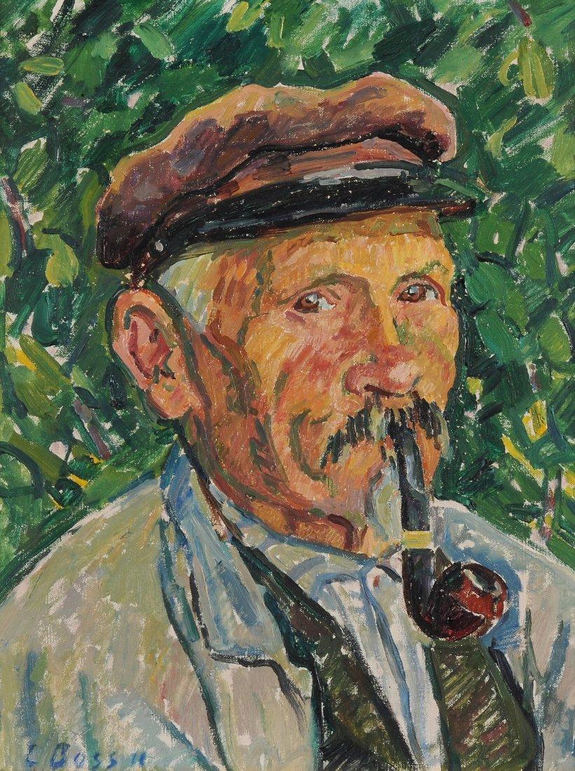 Boss, Eduard (Muri 1873–1958 Bern) Portrait eines