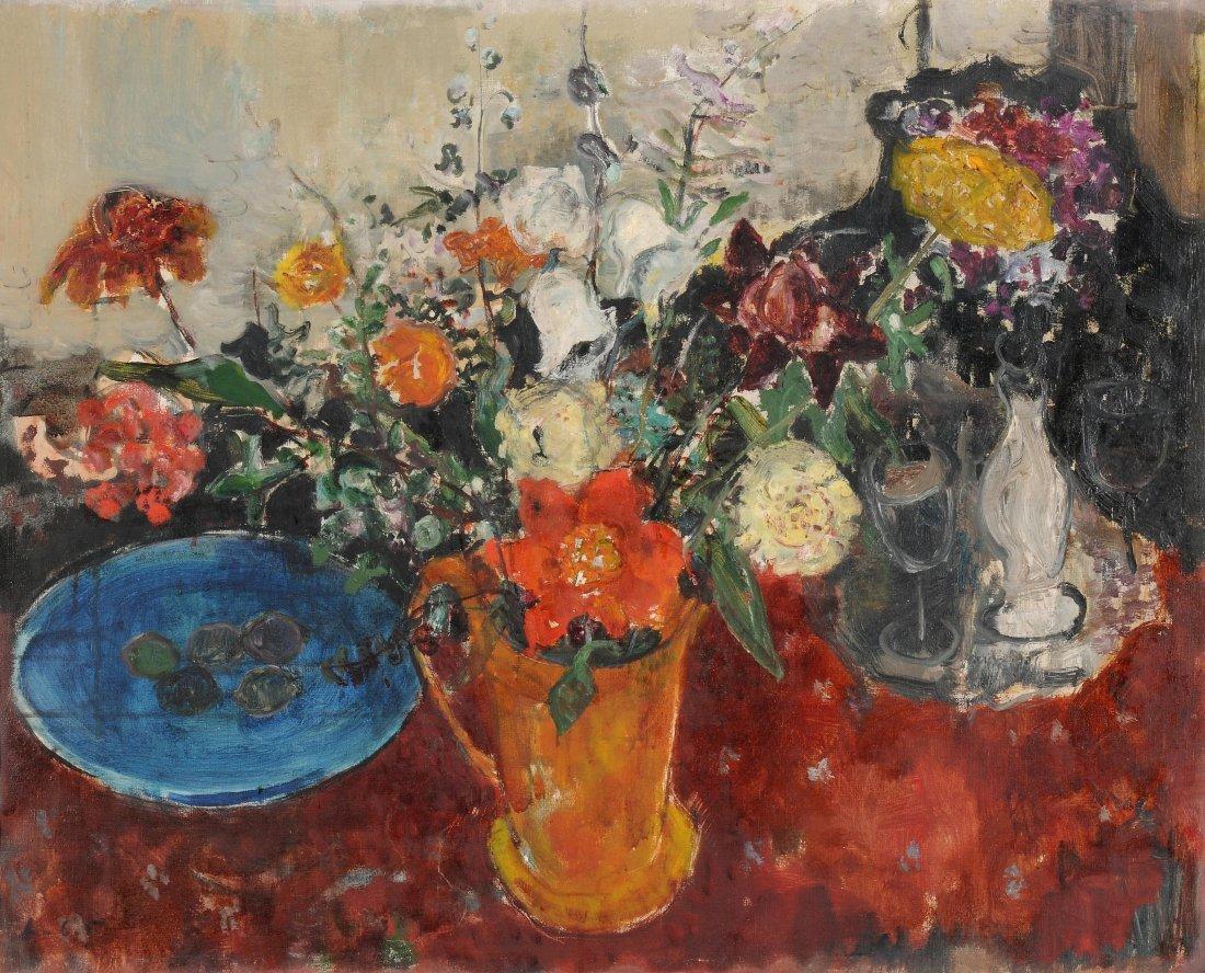 """Herbst, Adolf (Emmen 1909–1983 Zürich) """"Blumen"""", 1943."""