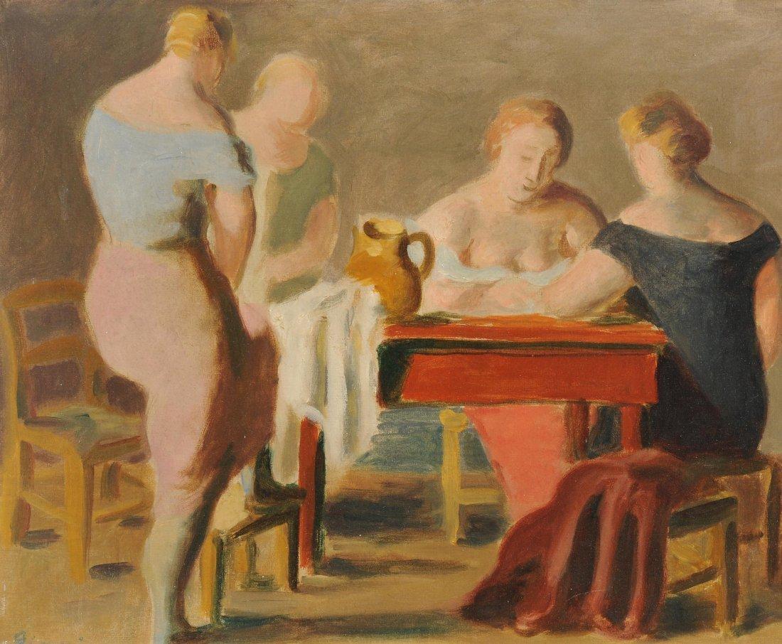"""Gimmi, Wilhelm (Zürich 1886–1965 Chexbres) """"Quatre"""