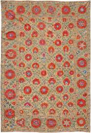 Suzani-Buchara Z-Usbekistan, um 1900. Wunderschöne