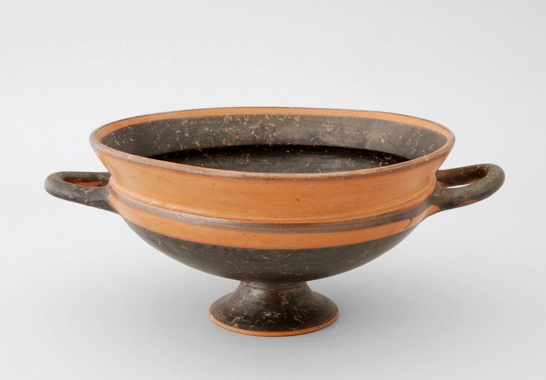 Zweihenklige Schale Griechisch, 6.–5.Jh. v. Chr.