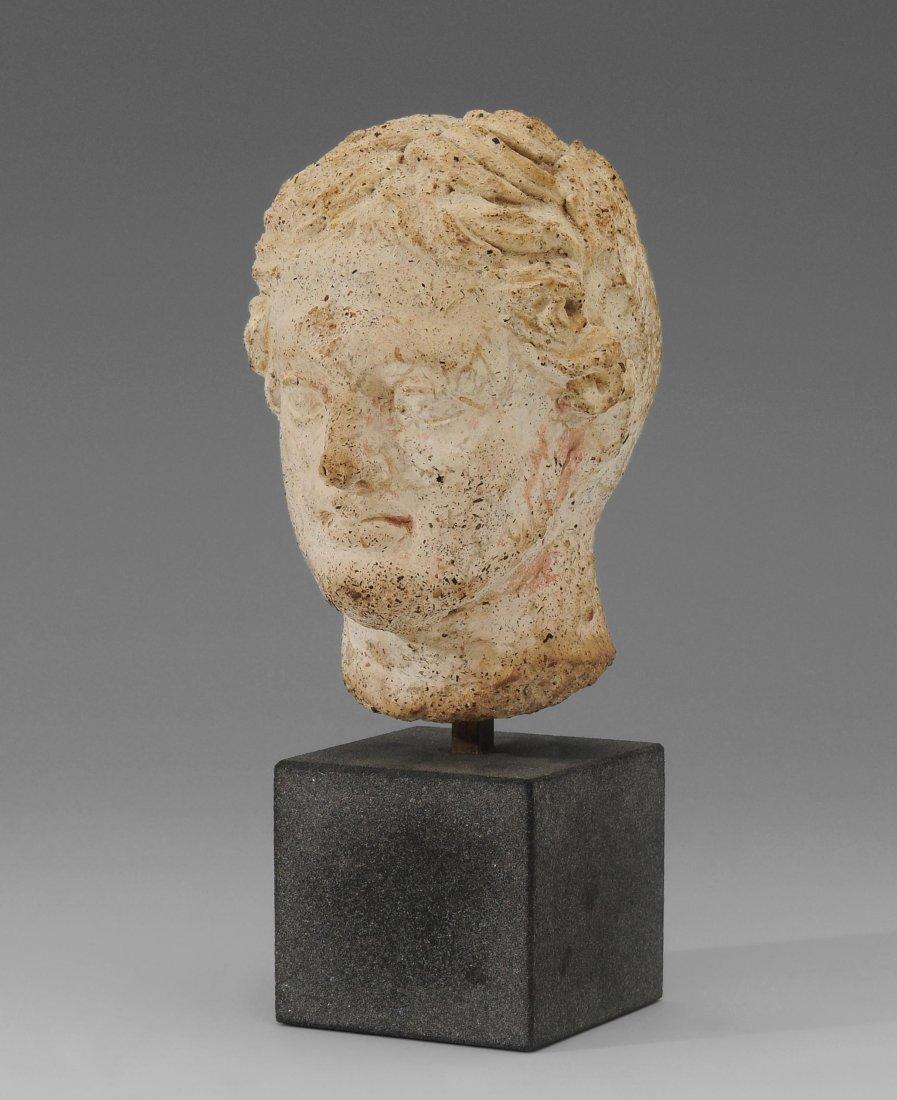 Männlicher Kopf Etruskisch, 2.–1.Jh.v.Chr.
