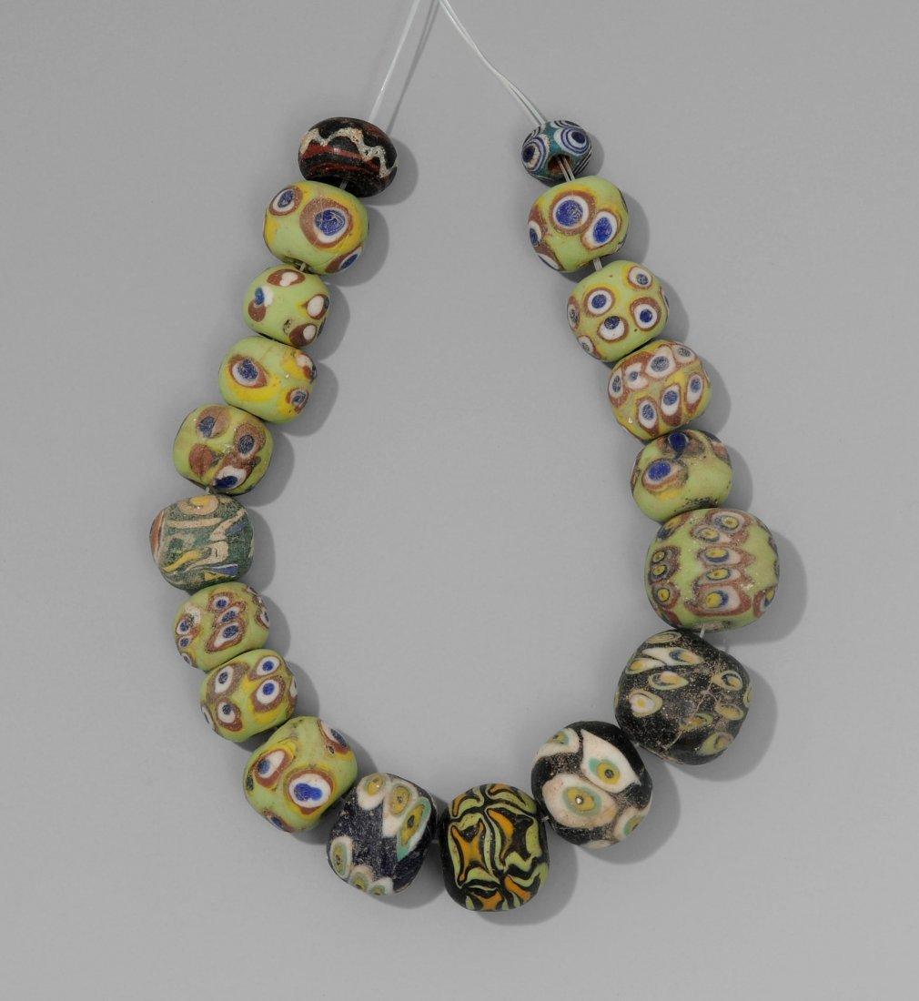 Perlenkette Phönizisch, 4.–1.Jh. v. Chr.