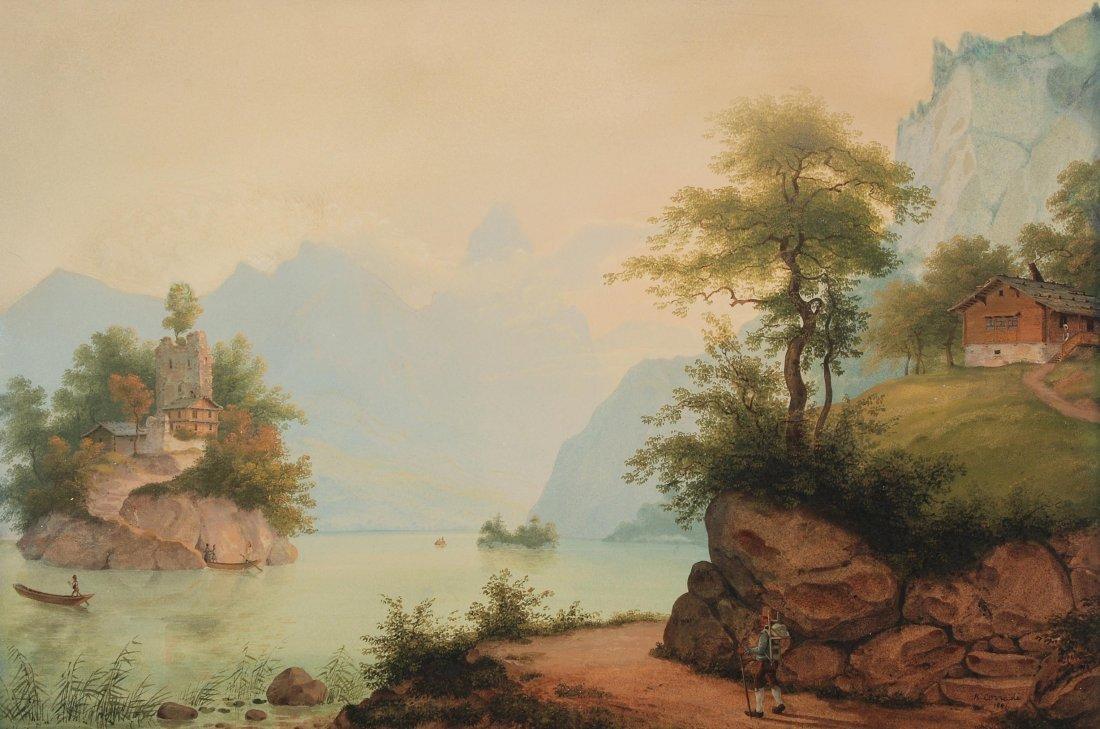 Corradi, Konrad (Oberneunforn 1813–1878 Uhwiesen) Le