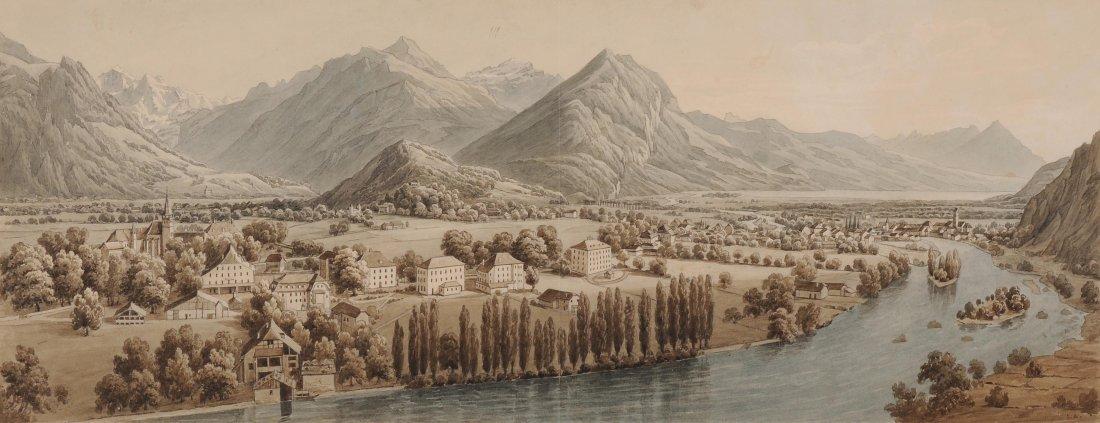 Dikenmann, Johann Rudolf (1832 Zürich 1888) Panorama
