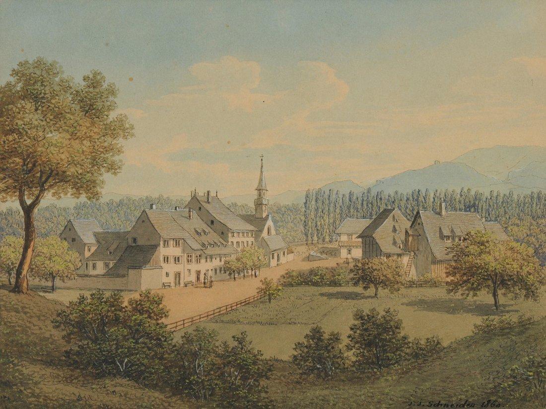 Schneider, Johann Jakob (Diegten 1822–1889 Basel)