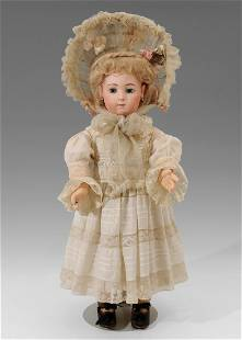 "Seltene ""Jumeau Triste""-Puppe Frankreich, um 1880/90."