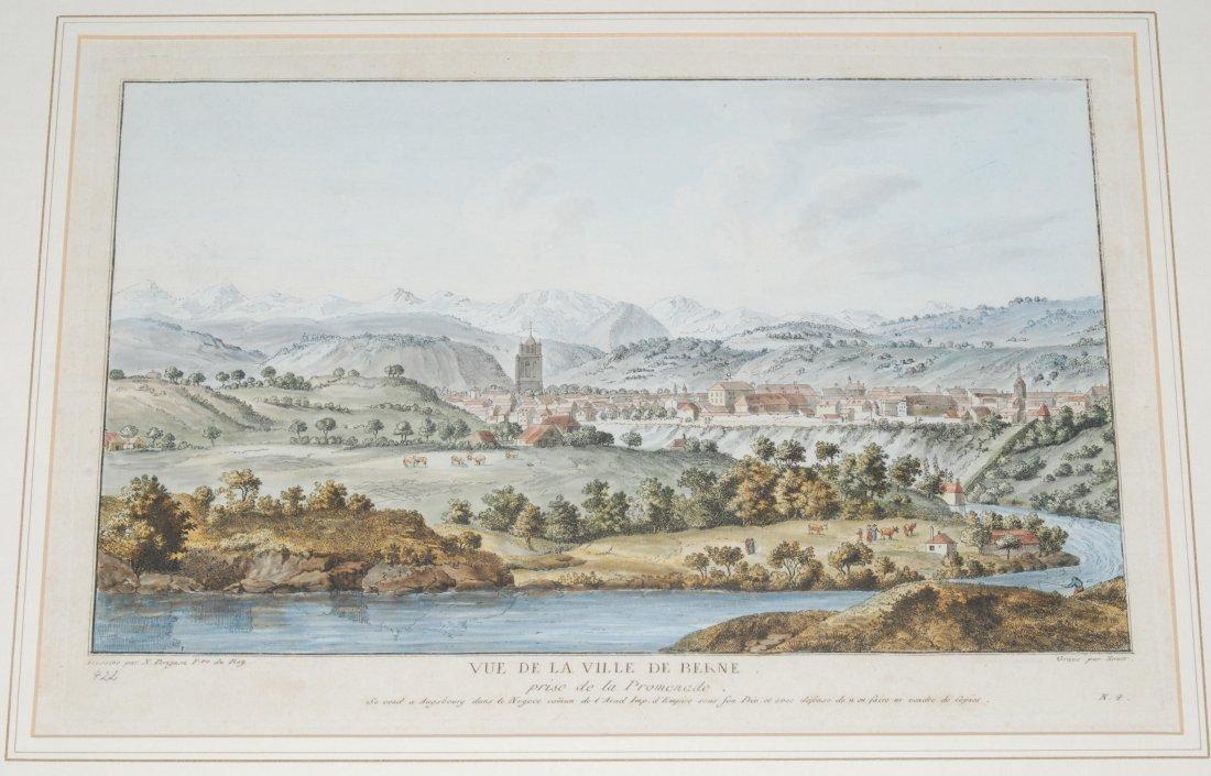 Bern Vue de la Ville de Berne, prise de la Promenade.