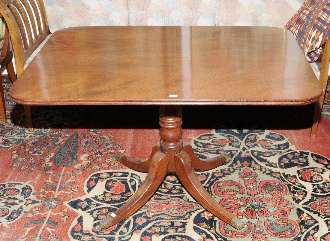 Tisch Regency-Stil um 1900. England. Mahagoni.