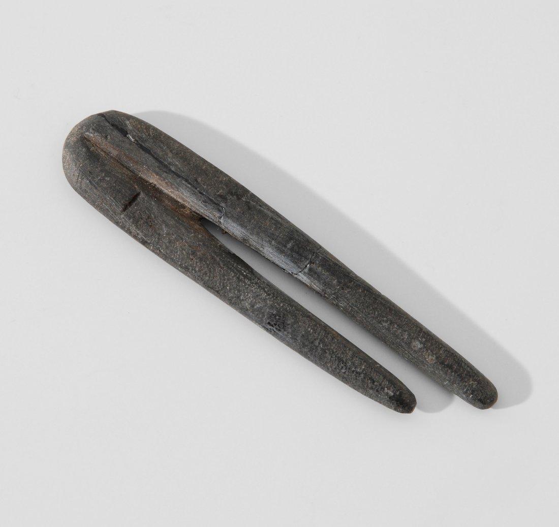 Zwei-Fingeramulett Aegypten, Spätzeit, 600–30 v. Chr.