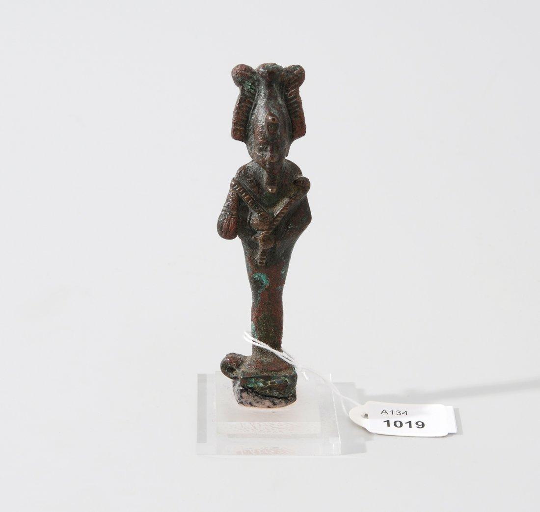 Statuette des Osiris Aegypten, Spätzeit, 600–100 v.
