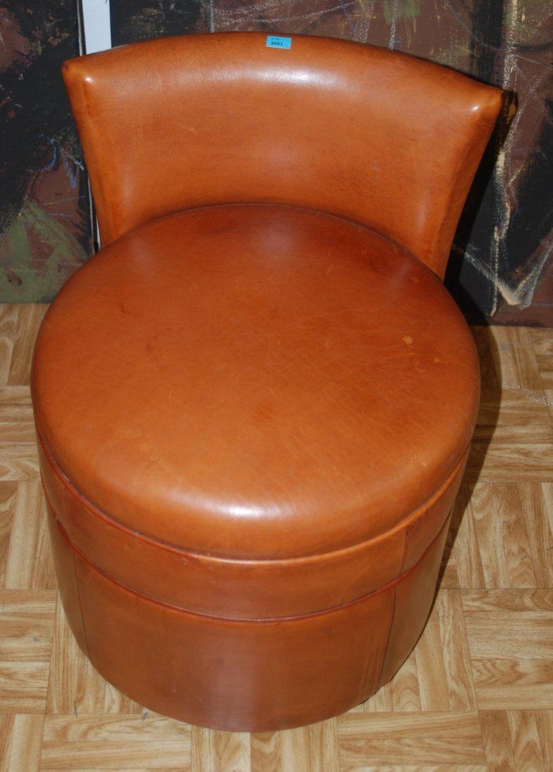 Ein Paar Sessel 1950er Jahre. Zwei runde Sessel mit