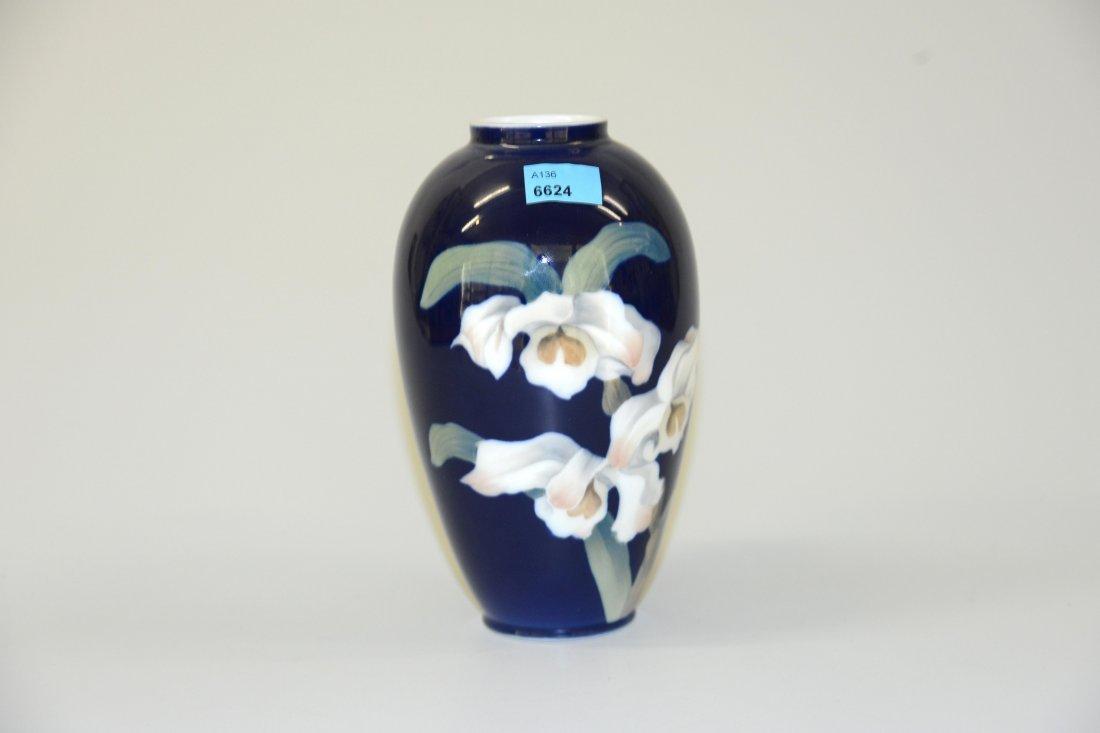 Vase, Royal Copenhagen, 20.Jh. Porzellan, polychrome