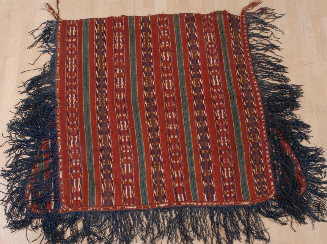 Pferdedecke Jajim Usbekistan, um 1920. Feine