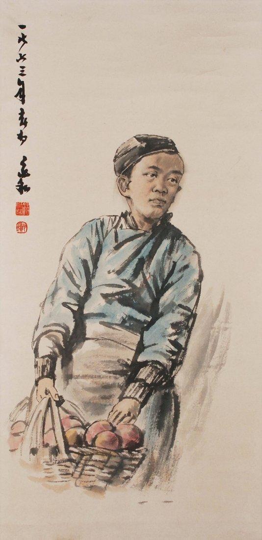 Jiang Zhaohe (1904–1986), zugeschrieben Tusche und