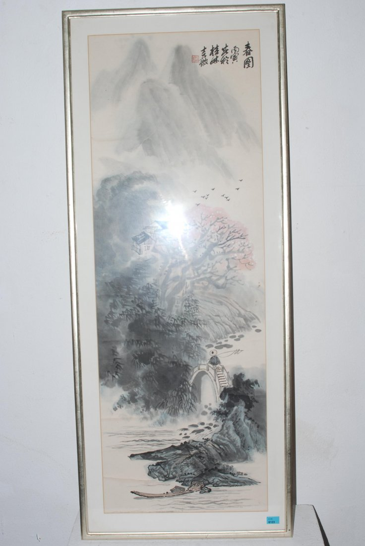 Malerei China, 2.Hälfte 20.Jh. Tusche und Farbe auf