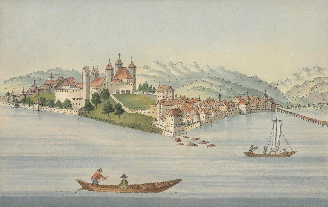 "Hofmeister, Johannes (1721 Zürich 1806) ""La Ville de"