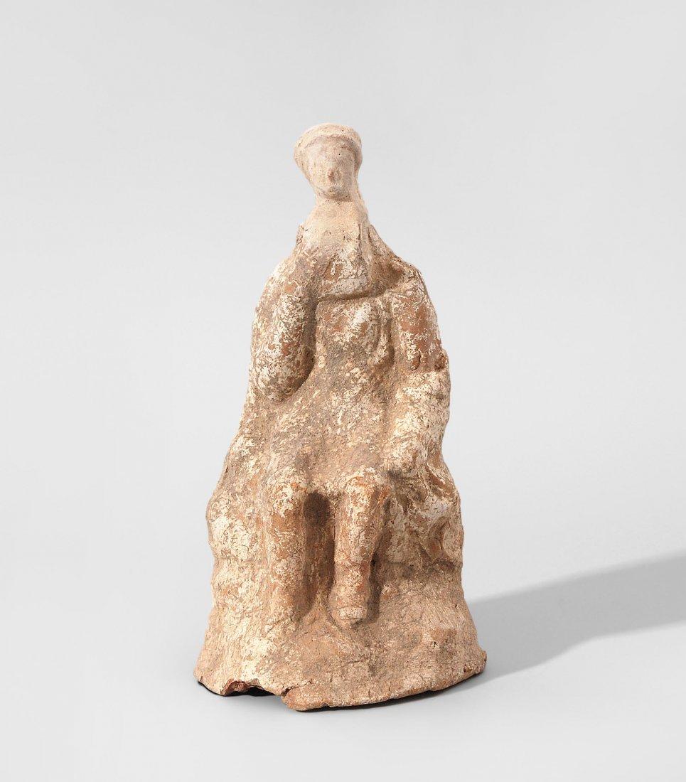 Thronende Figur Griechisch, 5./4.Jh. v. Chr.
