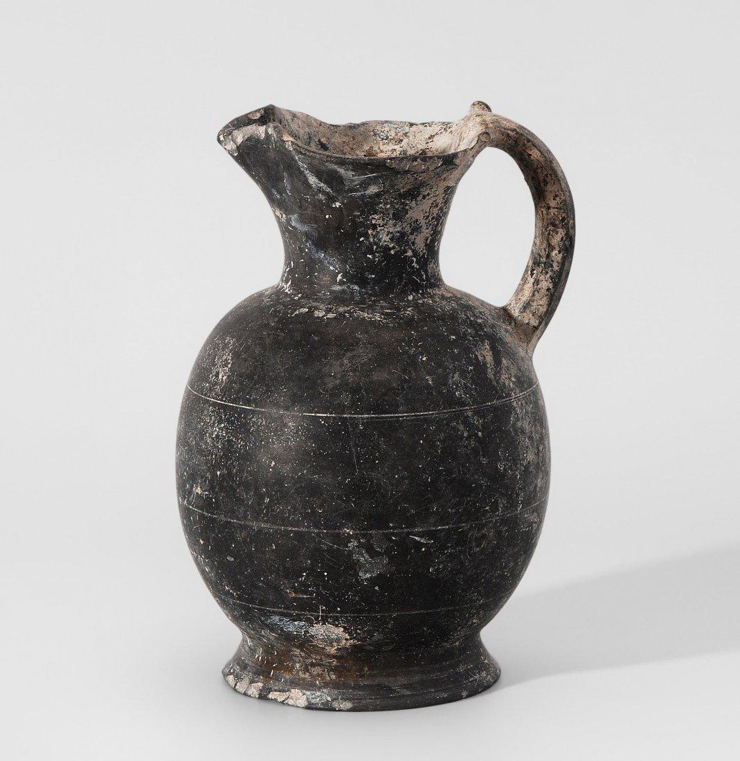 Kleeblattkanne Etruskisch, 7.Jh. v. Chr. Schwarze