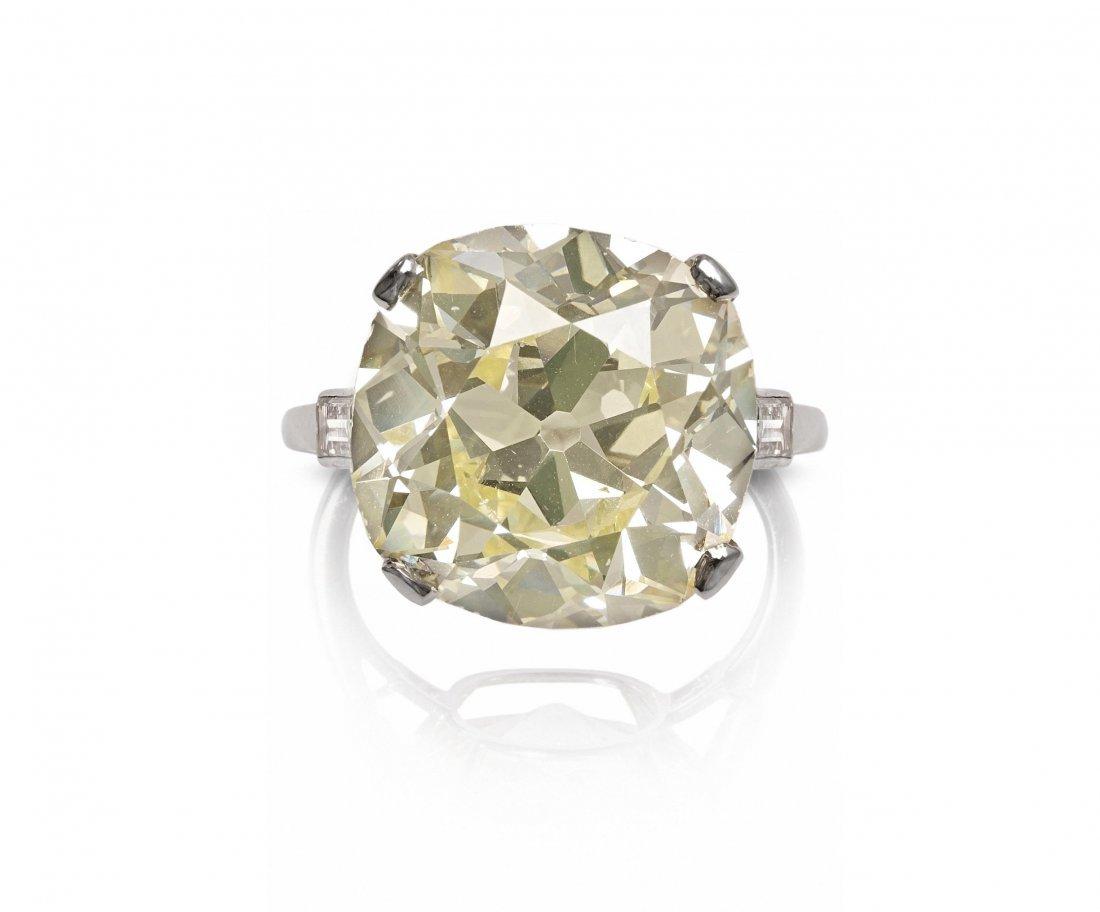 Seltener Diamant-Ring Cartier. London, 1930er Jahre.