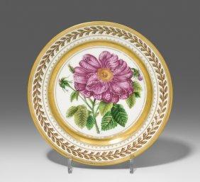 Teller, Archangelski 1827. Porzellan Frankreich (wohl