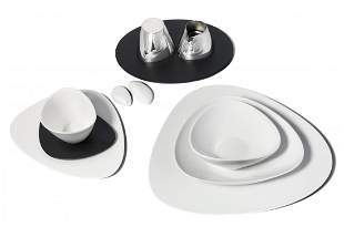 """Service, Alessi 2007. Italien. """"Colombina collection""""."""