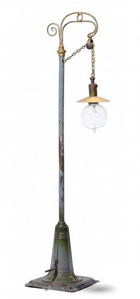 Grosse Bing-bogenlampe Deutschland, Um 1920/30. Flacher