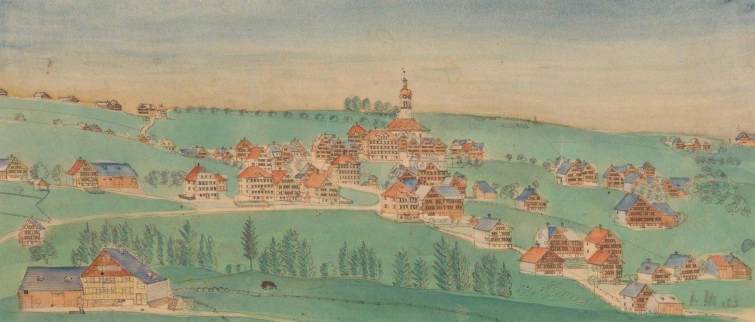 Kästli, Johann Jakob (1839 Speicher 1922) Ansicht von