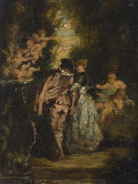 Diaz De La Pena, Narcisse Virgile (bordeaux 1807–1876