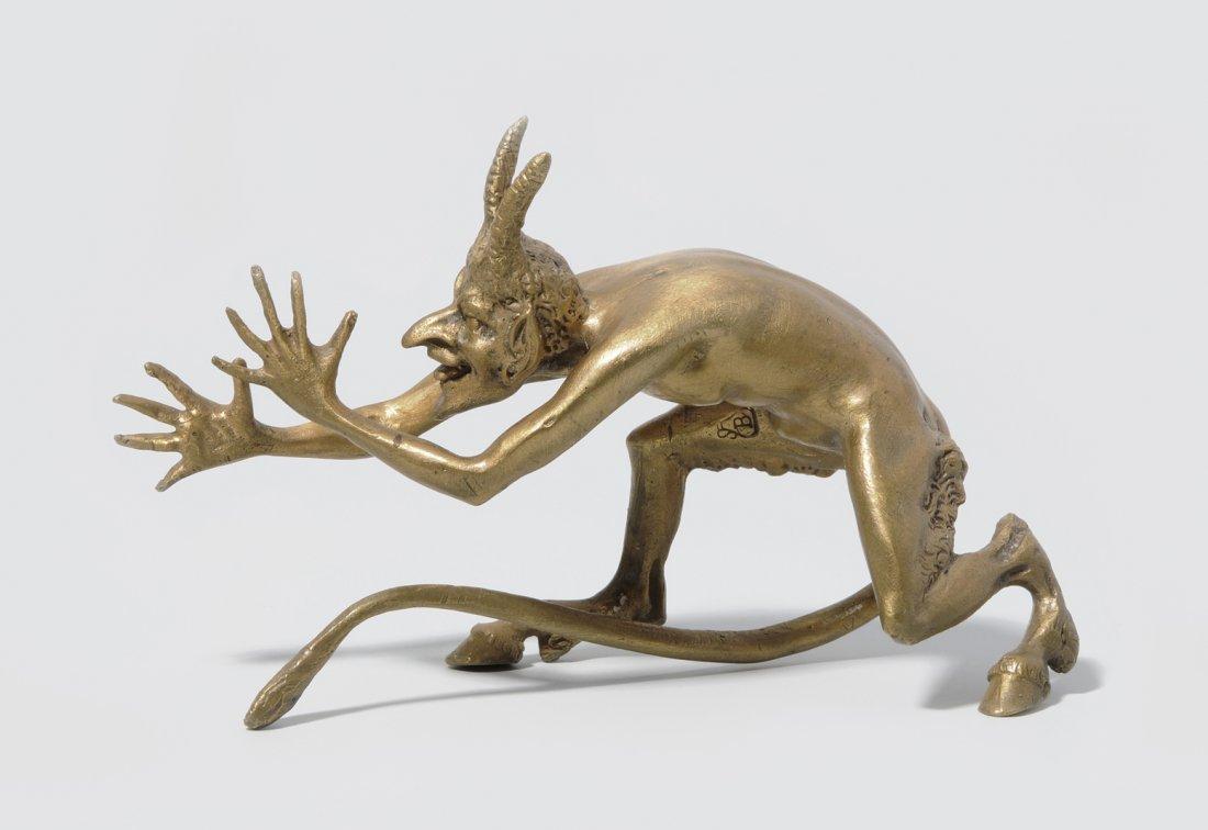 Teufel Wiener Bronze, 2. Hälfte 20.Jh. Zyseliert und