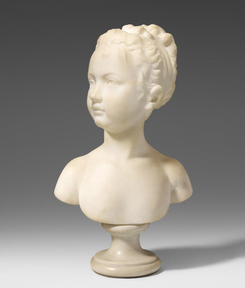 Büste eines Mädchens Nach Jean-Antoine Houdon