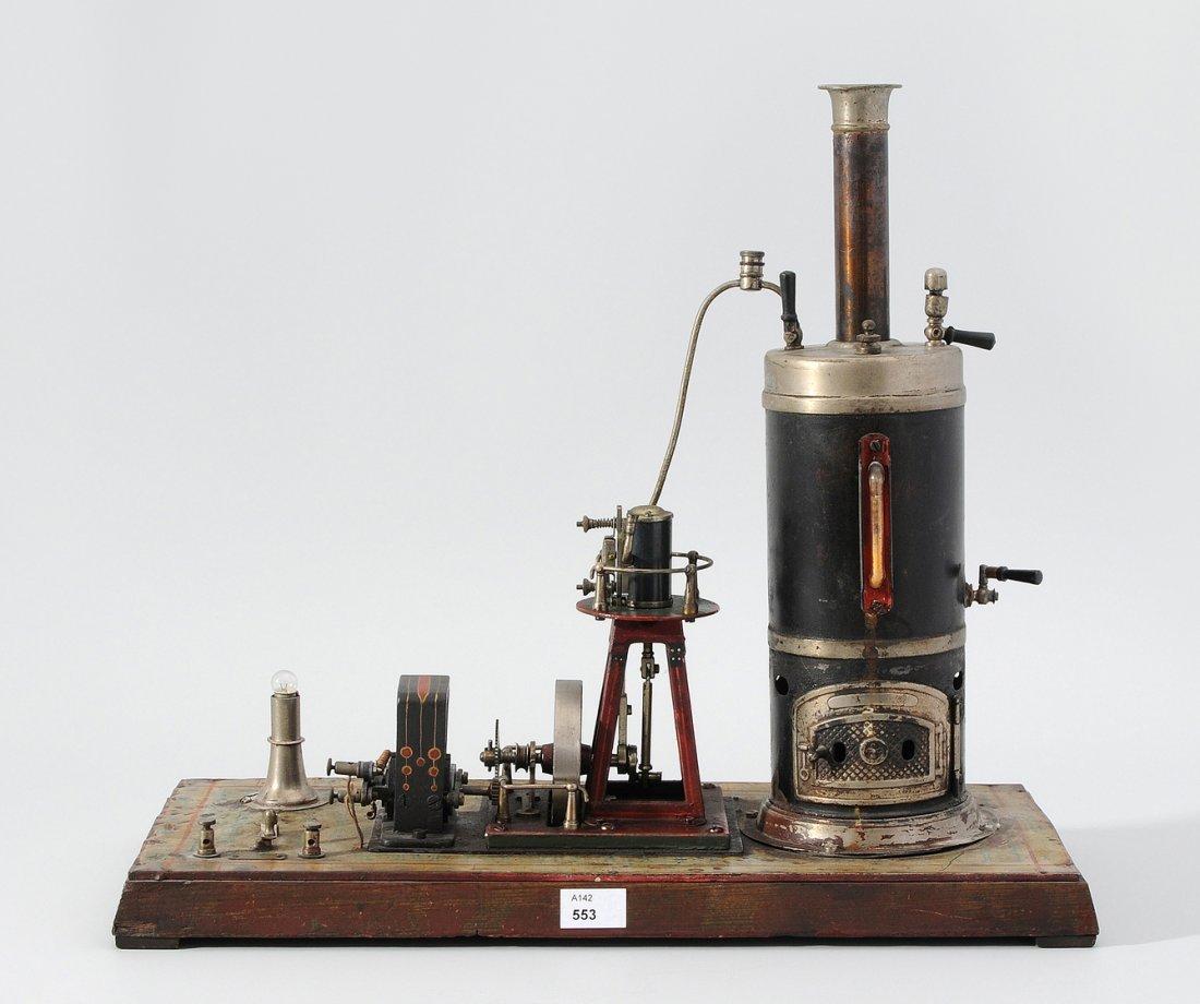 Bing-Schiffsdampfmaschine Deutschland, um 1912.
