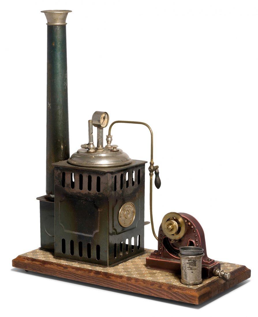 Plank-Bockdampfmaschine Deutschland, um 1902/03.