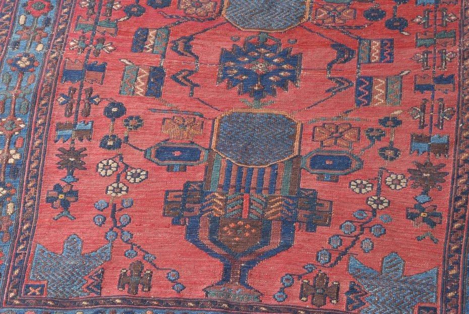 Afshar-Sumach S-Iran, um 1910. Feine Nadelarbeit. Auf - 4