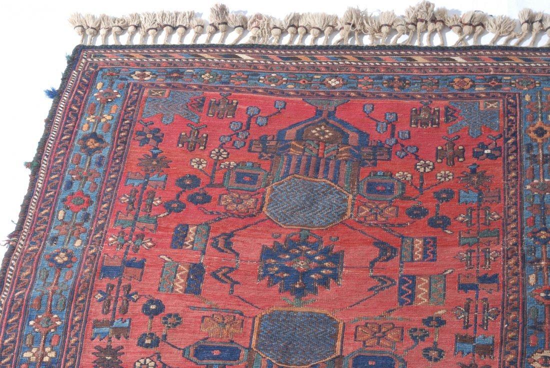 Afshar-Sumach S-Iran, um 1910. Feine Nadelarbeit. Auf - 5