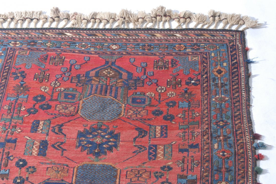 Afshar-Sumach S-Iran, um 1910. Feine Nadelarbeit. Auf - 6